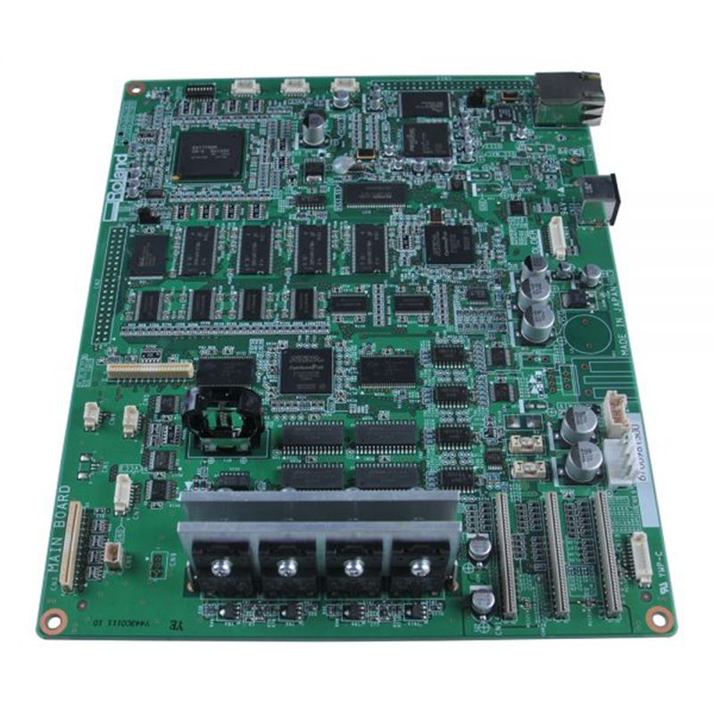Original Roland Main Board 6700989010 for VP-300i / VP-540i / RS-540 / RS-640 roland vp 540 rs 640 vp 300 sheet rotary disk slit 360lpi 1000002162 printer parts