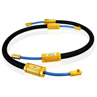 one pair Triple Crown XLR balance Audio Interconnect Cable with XLR plug connector