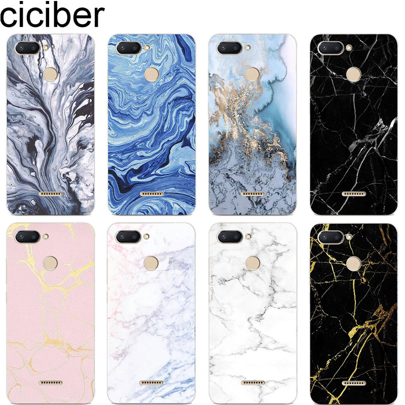 Ciciber Capa Phone-Case Marble Xiaomi Redmi Plus Back Note-7 for 6-5 4 3-A-X-S Pro S2