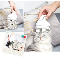 Handheld Massager for Dogs Cats Massage Brush Automatic Grooming Tools Electric Pets Head Massager with Deep Tissue Kneading 15