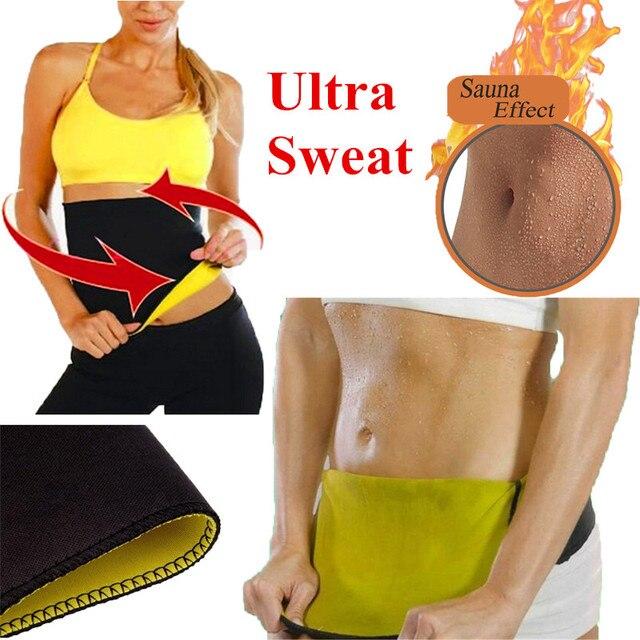 Neoprene Sauna Slimming Waist Trainer Belts – Weight Loss Waist Cinchers Corset Body Shaper Belt
