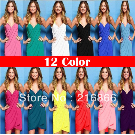 2013 Free shipping wholesale  swimsuits for womens beach cover up clothes ray bans dress YZ39