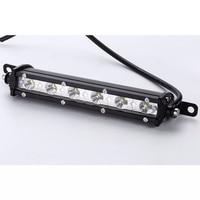 18W Slim Single Row Led Strip Light Work Lights Off Road Car Modified Spotlights In The