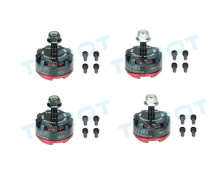 4pcs Tarot MT2205 II  CW/CCW 2300KV Motor TL400H14 TL400H15 for DIY RC Mini Racing Quadcopter Drone 180/190/200/220