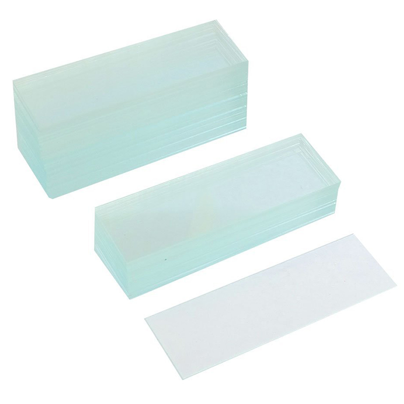 New 50 Pcs Pre-cleaned Microscope Blank Glass Slides 1x3 inch