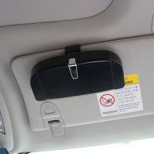 Jameo авто солнцезащитный козырек очки солнцезащитные очки хранения карты держатель Box для Toyota Corolla CHR C-HR Rav4 Avensis Prius Yaris prado