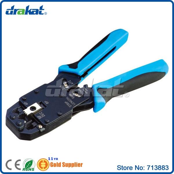 RJ45 RJ11 RJ12 8P/6P/4P Modular plug Crimping tool