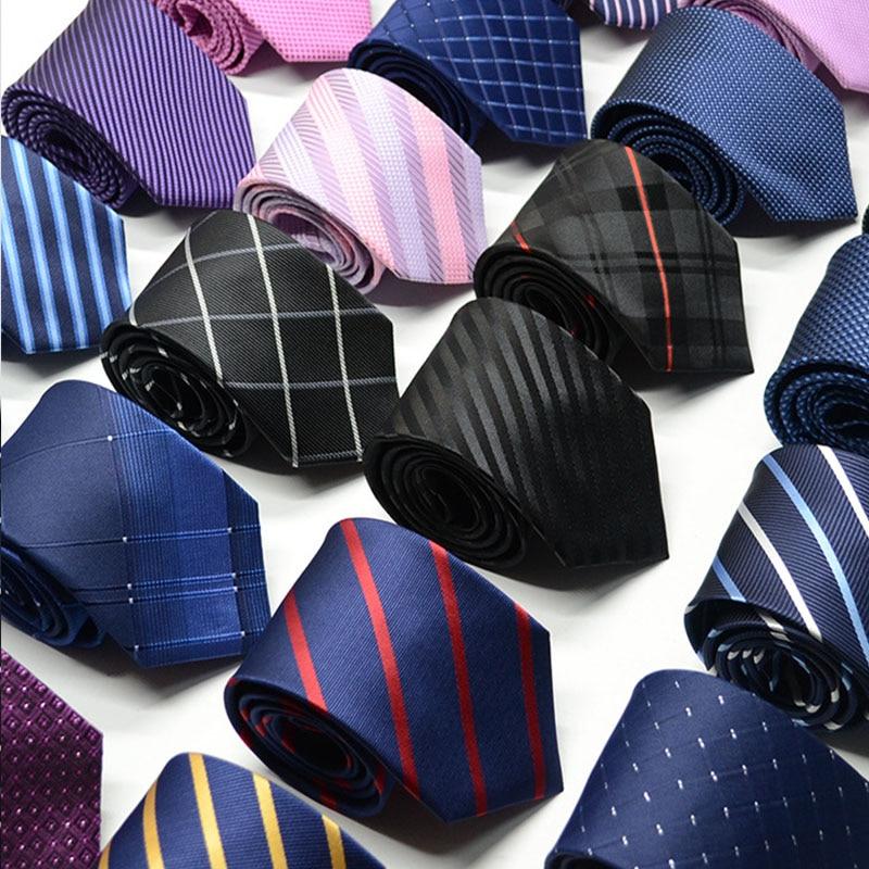 100 Styles Silk Men's Ties Stripe Flower Floral 8cm Jacquard Necktie Accessories Daily Wear Cravat Wedding Party Gift For Man