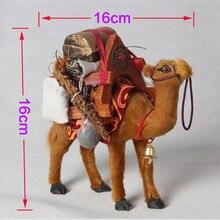 ZILIN Vivid Desert Camel Lovely Camel Decor 16 6 16 cm