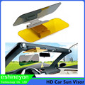 HD Carro Pala de Sol 2 em 1 Dia e Noite Dupla Utilização Sombra Espelho Anti Encandeamento Auto Interior para veículo Visão Clara Óculos Deslumbrantes