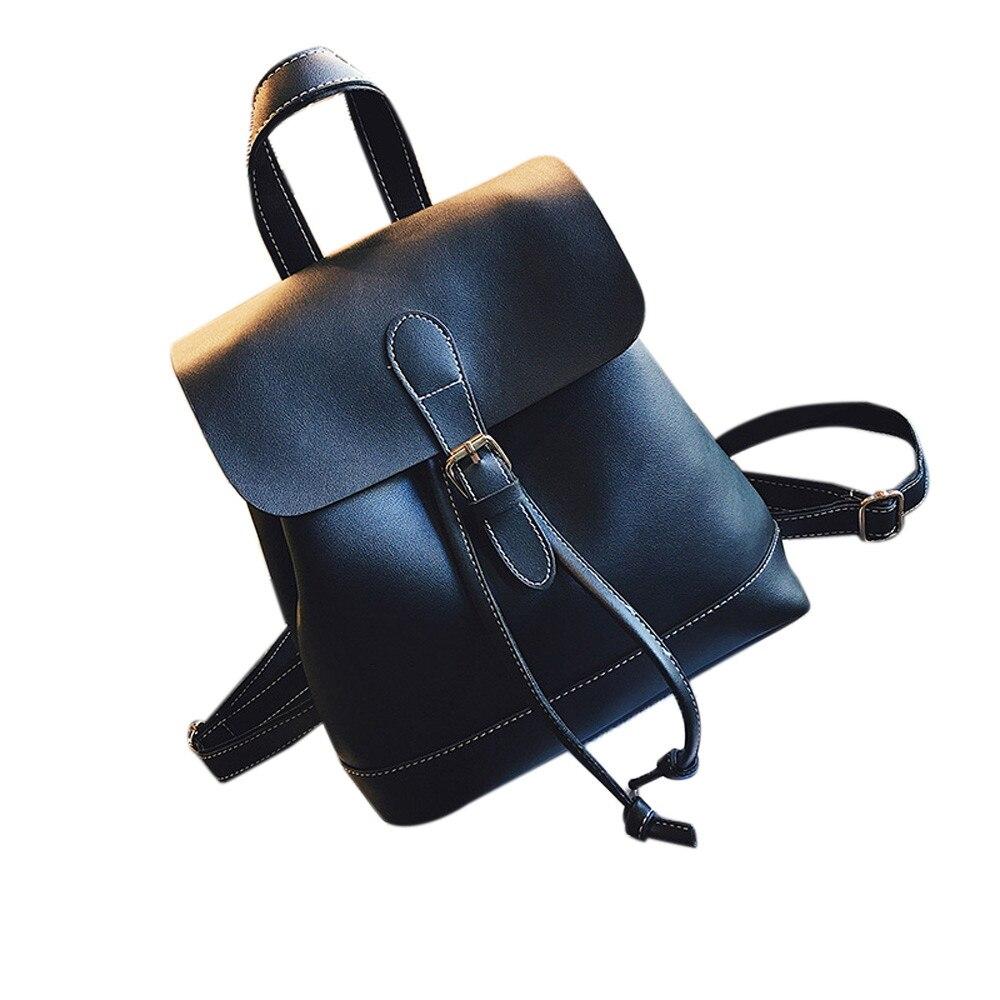 Backpack Womens Shoulder Bag Mochila Feminina For Teenage Girls College Students Fashion Traval Backpacks Sac a main Gift 2018