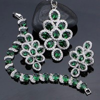 New-Green-Cubic-Zirconia-White-Rhinestone-Jewelery-925-Sterling-Silver-Jewelry-Sets-For-Women-Necklace-Pendant.jpg_200x200