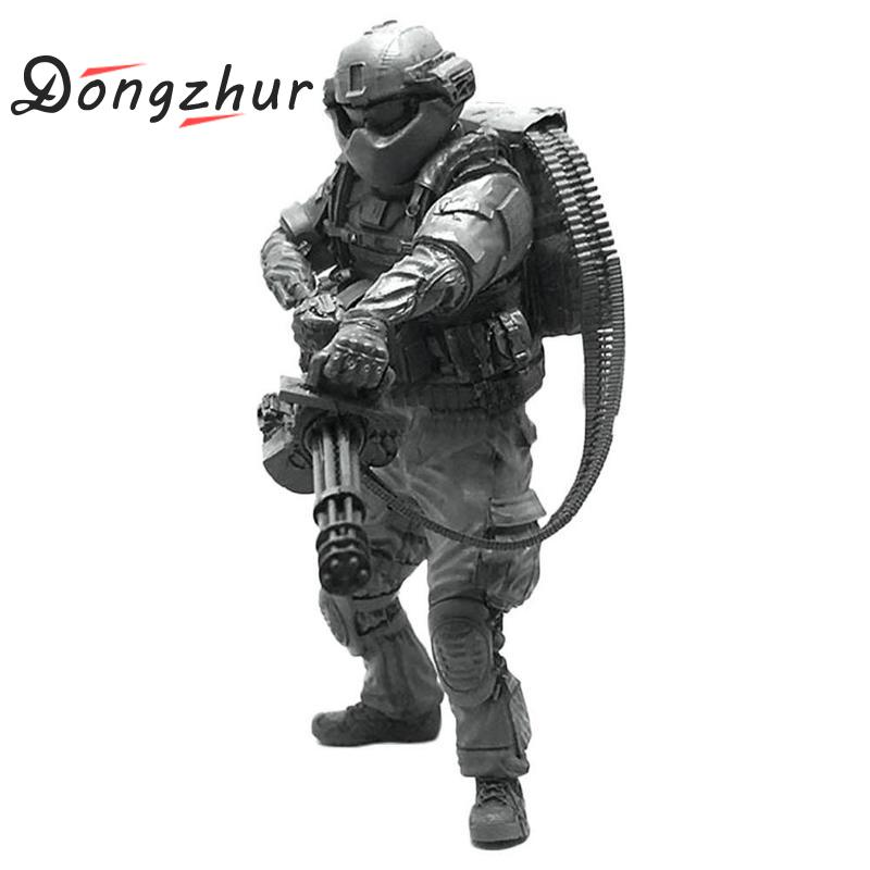 Dongzhur 1/35 Modern American Navy Seal Destroy The Demon Man Model Creative Diy Assembled Toys 1 35 Scale Model Figures