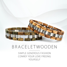 BOBO BIRD Wooden Bracelet Homme Men Women Wooden Bangle Jewelry Gift pulsera hombre Great Gifts