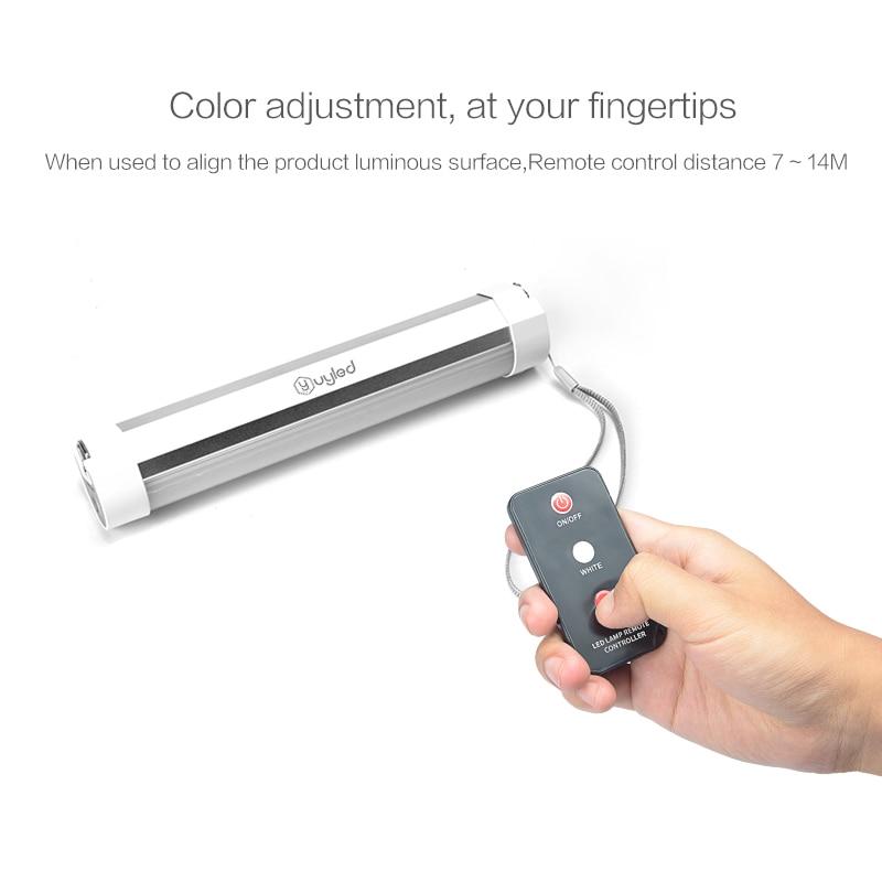 Design Patenteado UYLED Q9IR SOS Emergência Conduziu A Luz Com Controle Remoto Magnetic Camping Recarregável Lanterna Portátil Ao Ar Livre