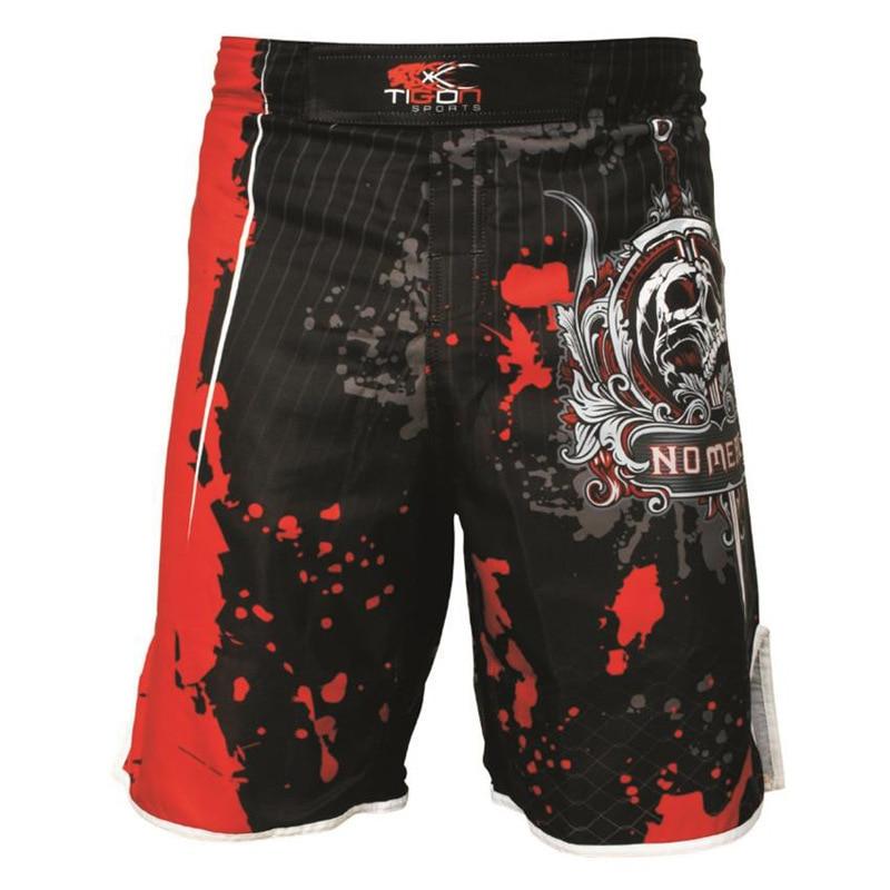 Muay Thai Fight Shorts MMA Grappling Kick Boxing Trunks Martial Arts UFC Pro
