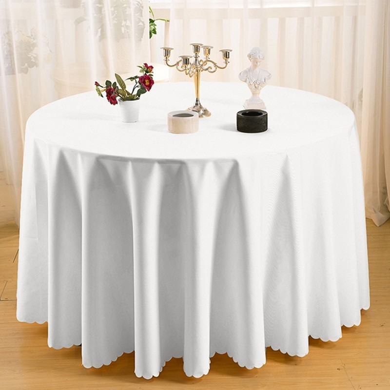 10 pieces 126inch Table Cloth Of Wedding Table Covers