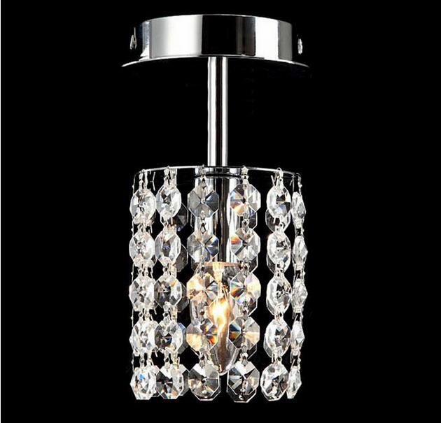 LED Corridor Light k9 Crystal ceiling Dome Light, Single Head Absorb Dome Light The Balcony Lamp Hallway Lights. стоимость
