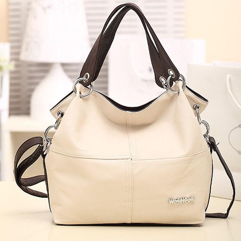 ФОТО HOT!!!! Women Handbag Special Offer PU Leather bags women messenger bag Splice grafting Vintage Shoulder Crossbody Bags