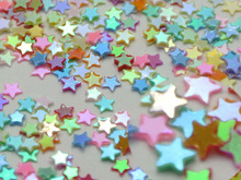 50Gram Mixed Color Star Sequins Loose Tiny 3mm Nail Art