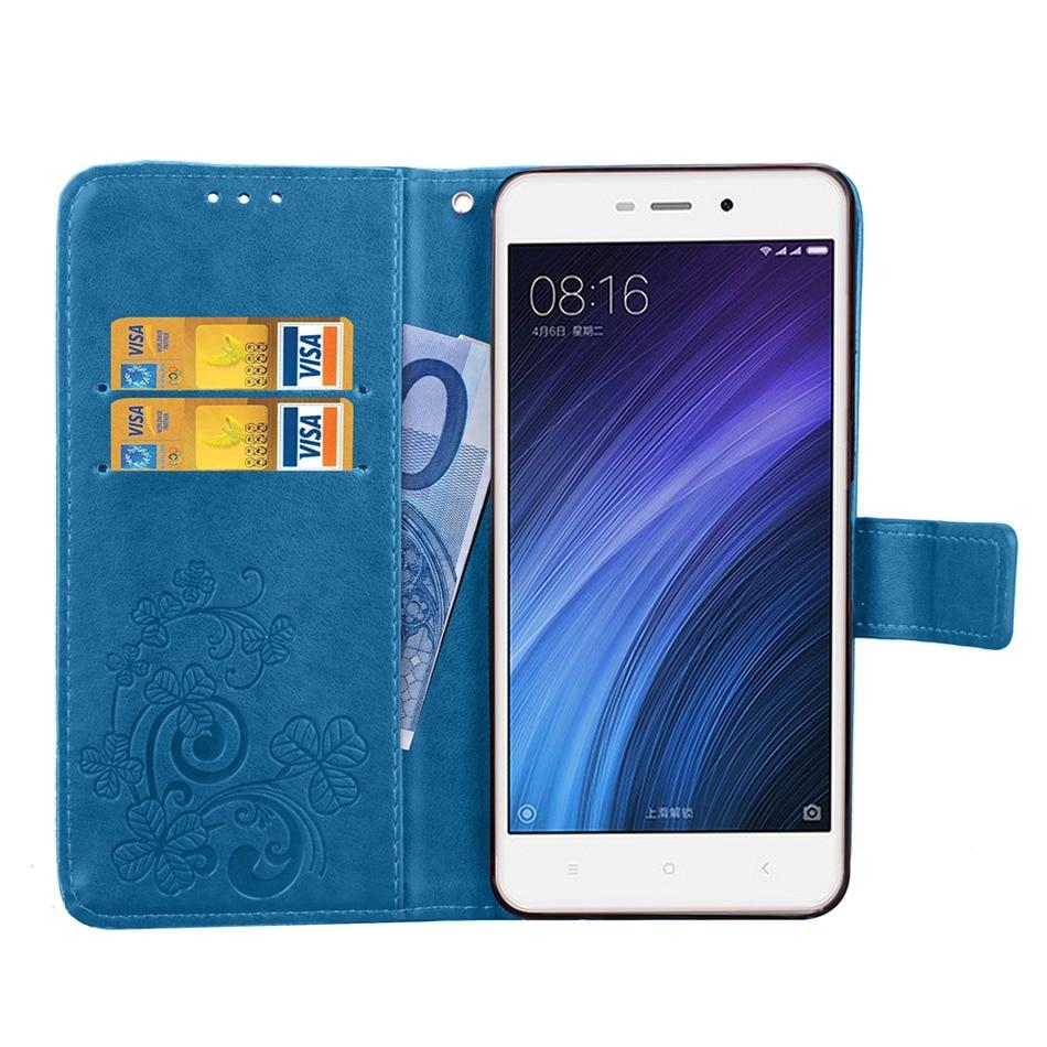 Xiaomi Redmi 4A Case Flip Wallet PU կաշվե տուփ Xiaomi Redmi - Բջջային հեռախոսի պարագաներ և պահեստամասեր - Լուսանկար 6