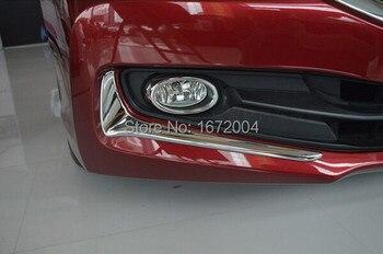 Alta qualidade ABS frente Chrome Fog tampa da lâmpada guarnição para Honda Accord 2013 2014
