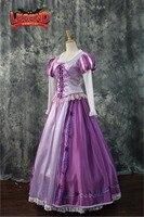 Tangled Rapunzel Princess Dress Costume Adult dress cosplay costume custom made