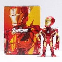 Marvel Avengers Age Of Ultron Iron Man PVC Action Figure Toys Iron Man Figures Doll 14CM
