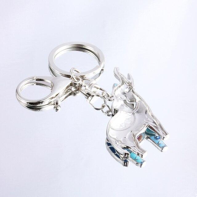Женский уникальный брелок с эмалью marte & young подарочные