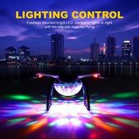 Лидер продаж! X58 RC Дрон со светом управление высота Удержание Летающая Модель оси самолета RC Квадрокоптер вертолет модель электронные игруш