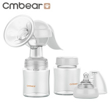 Cmbear Manual Breast Pump Powerful Baby Nipple Suction 150ml Feeding Milk Bottles Breasts Pumps Bottle Sucking