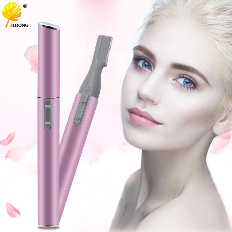 Multi-functional Women Girls Legs Armpit Hair Trimmer Eyebrow Shaping Electric Knife Eyebrow Tool Kit