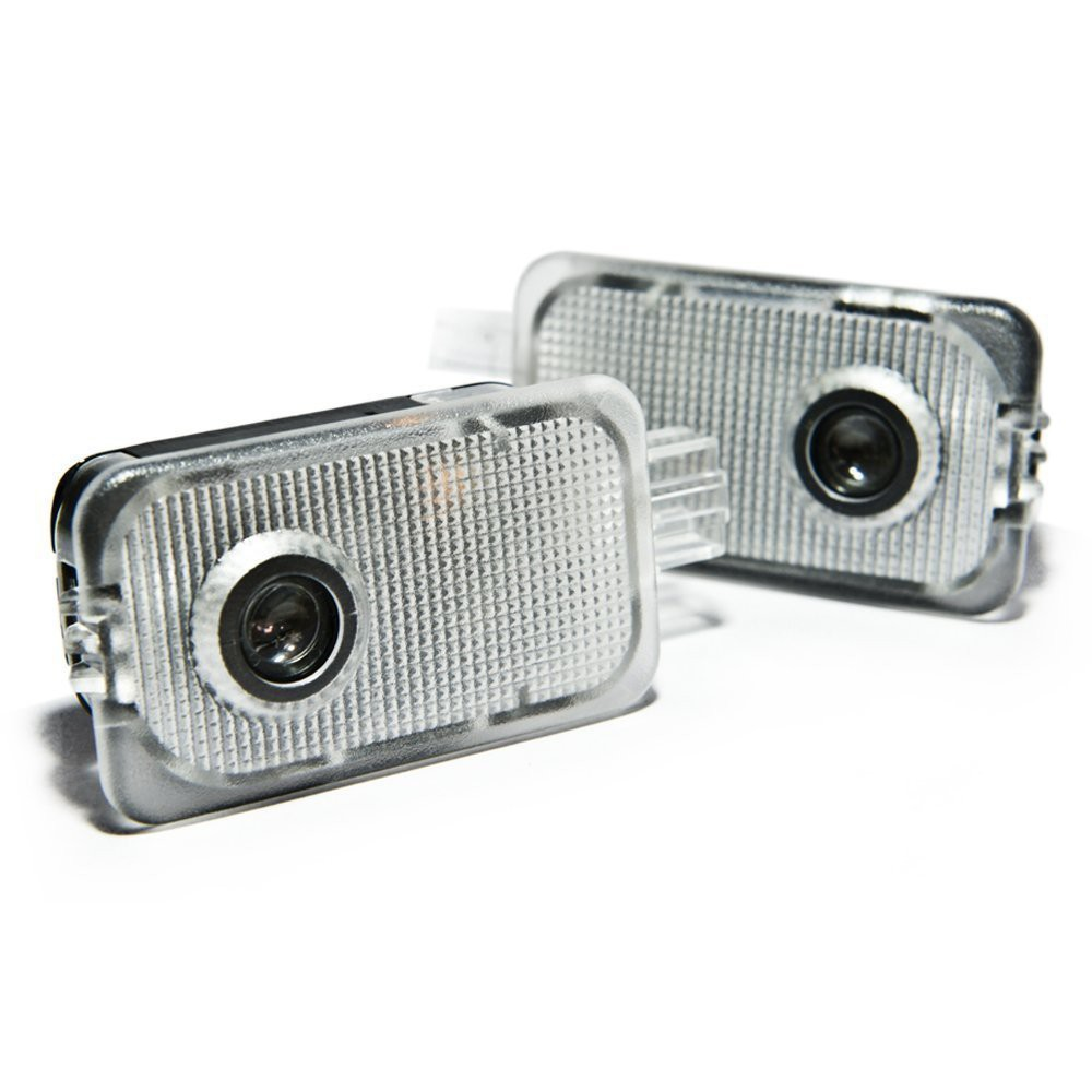 Auokey 2PCS LED Laser Projector Logo Step Door Courtesy Welcome Light Ghost Shadow for Subaru Forester Outback