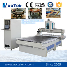 T-slot table (Vacuum table is option ) atc cnc carving machines with nc 1325 woodworking cnc router price