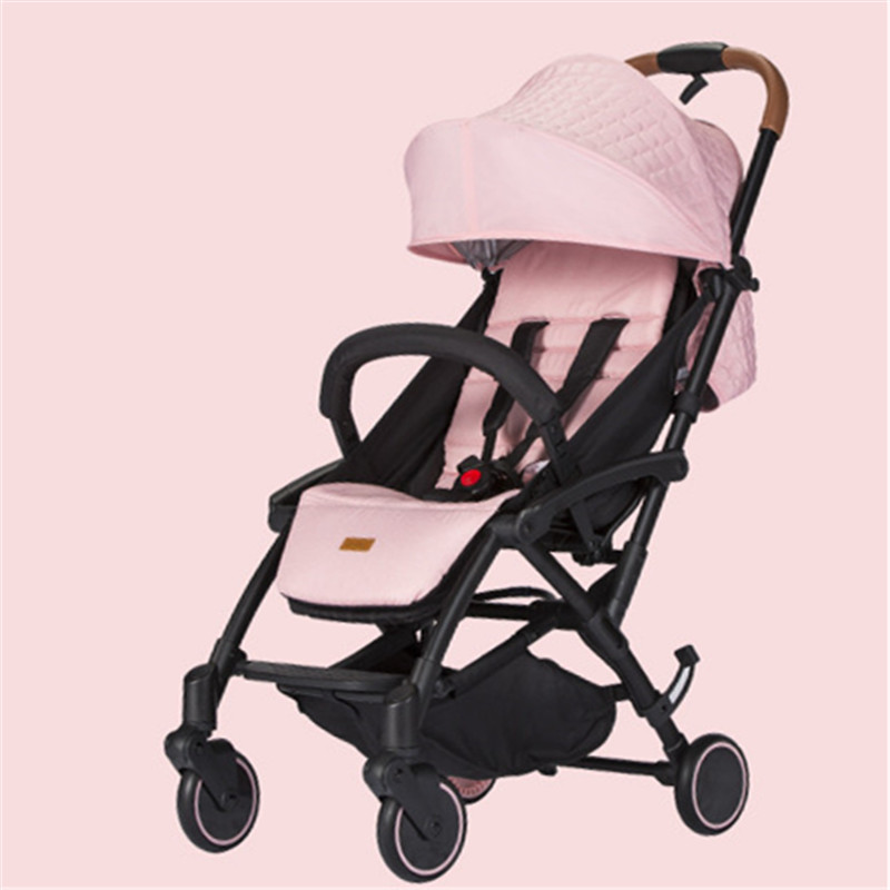 Lightweight Portable Kidstravel Baby Stroller 2 In 1 Light Folding Poussette 2018 Style Bebek Arabasi Kinderwagen цена
