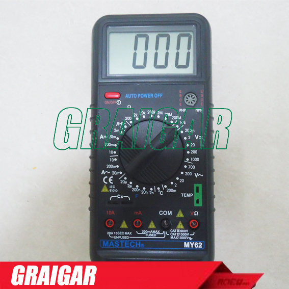 Free Shipping MASTECH MY6243 3 1/2 1999 count digital LC C / L Meter inductance capacitance tester free shipping mastech ms2138r 4000