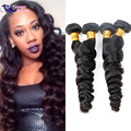 Alimoda Loose Wave Virgin Hair Brazilian Loose Wave 4 pcs Unprocessed 7A Brazilian Virgin Hair Loose Wave Human Hair Bundles
