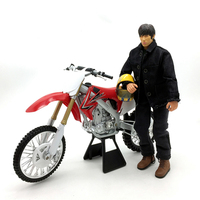 1:6 Scale KTM Motorcycle Motorbike Diecast Alloy Race Bikes Street Motorbike Toys For Action Figure Scene Construction Displays