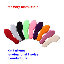Health memory cotton memory foam insole anti-odor sweat absorbing lovers shoes shock absorption pad 423