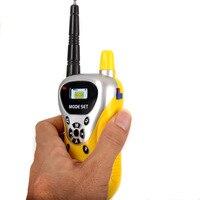 מכשיר הקשר 2pcs / הרבה מכירה חמה כף יד אינטרקום האלקטרונית Interphone ילדים מיני מכשיר הקשר ילדים Portable צעצוע הרדיו שני דרך (4)