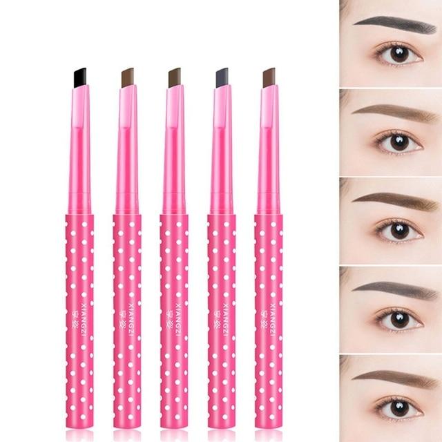 1 PC Black Wave Point Liquid Eyebrow Pencil  Waterproof Long-lasting Eye Pencil Beauty Makeup Cosmetics Drop
