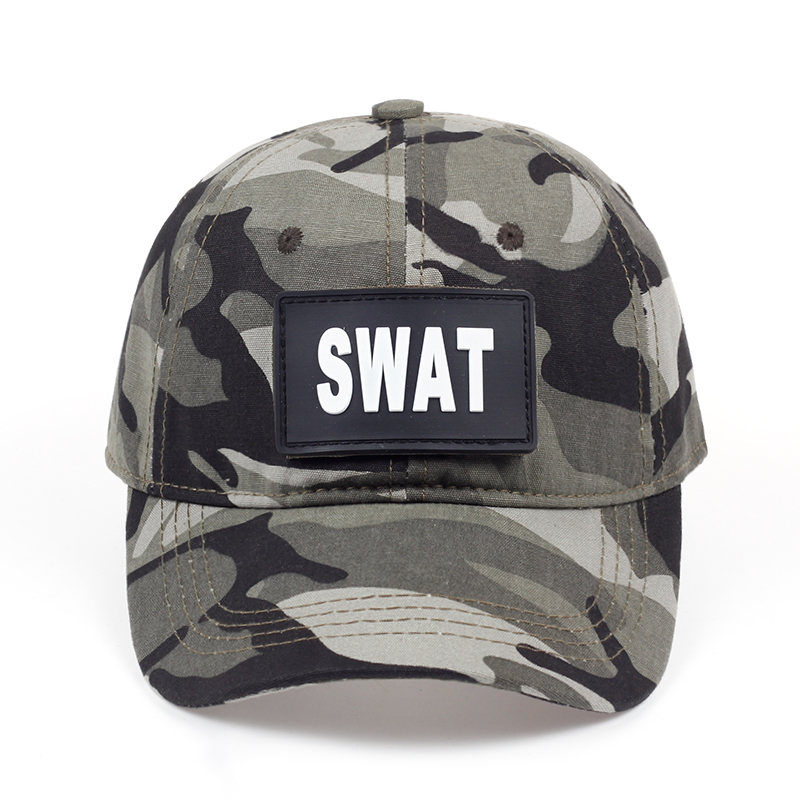 e3ff77ea34d DETAILS. TUNICA Special Force SWAT Tactical Caps Mens Brand baseball cap US  swat camo hat