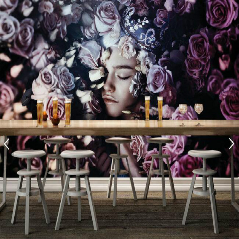 Damask Photo Wallpaper Mural Wall Paper 3d Modern Decorative Vintage Floral Silk Living Room Bedroom Home Improvement