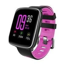 GV68 Сенсорный экран Bluetooth Smart Браслет IP68 Водонепроницаемый Поддержка монитор сердечного ритма/Bluetooth вызова/звонки напомнить и т. д.