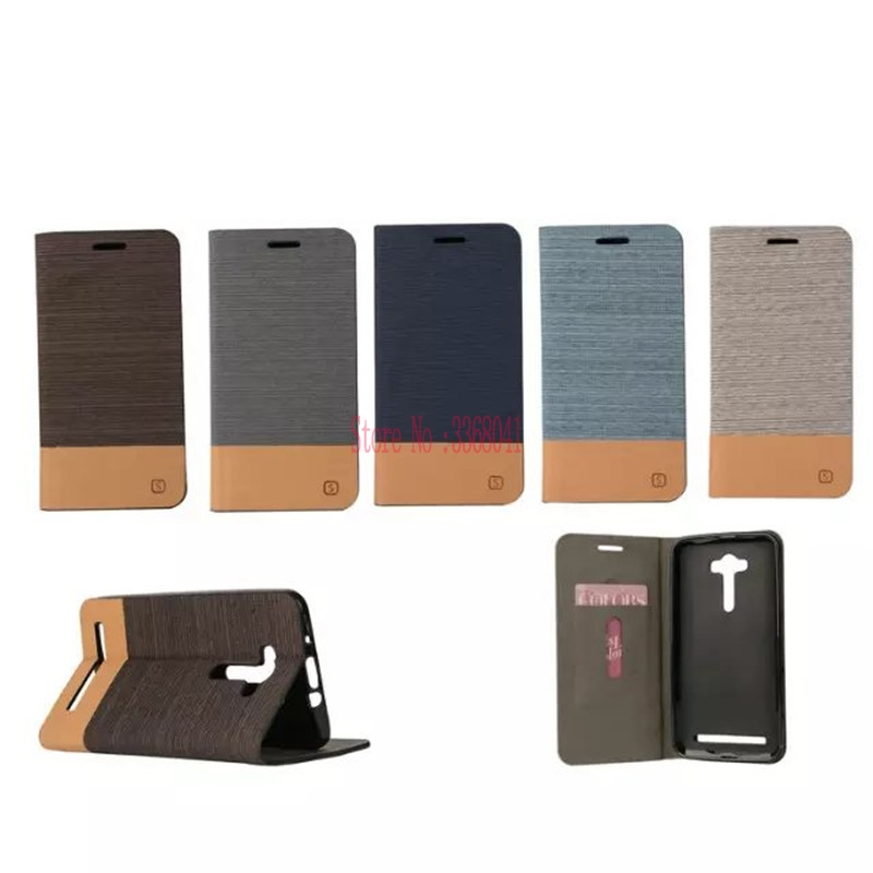 Phone Leather Cover for ASUS_Z00LD 5.5 inch Covers Flip Case for ASUS Zenfon 2 Laser Z00LD ZE550KL <font><b>ZE</b></font> 550KL <font><b>550</b></font> ZE550 <font><b>KL</b></font> Cases image