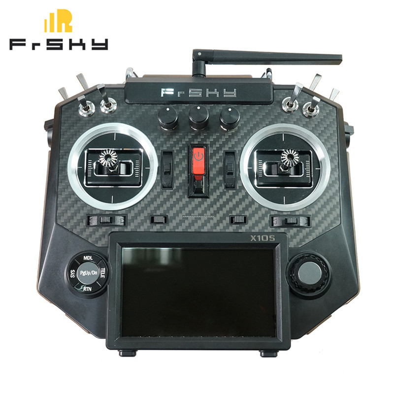 FrSky Horus X10S 16 Channels RC Transmitter Mode 2 MC12plus Gimbal Aluminum Packaging for FPV Racing Drone Accs frsky horus amber x10s 2 4g 16ch transmitter tx built in ixjt module for fpv aerial photography rc helicopter drone