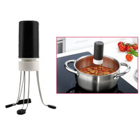 3 Speeds Automatic Cordless Stir Crazy Stick Blender Mixer Hands Free Kitchen Utensil Food Sauce Auto Stirrer Blender