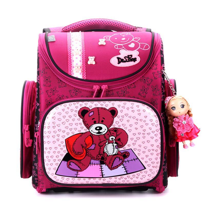 جديد حقيبة مدرسية الاطفال الأطفال على ظهره عالية الجودة 3D طباعة حقيبة مدرسية s للأولاد الفتيات الطفل أكياس المدارس الابتدائية الظهر-في حقائب مدرسية من حقائب وأمتعة على  مجموعة 1