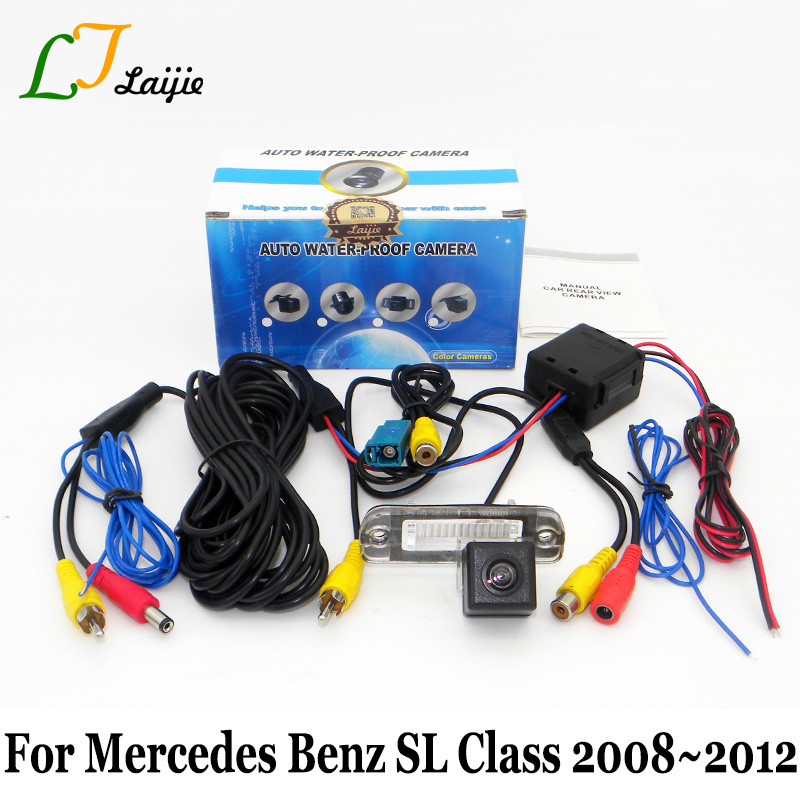 Laijie Car Rear View Camera For Mercedes Benz SL Class R230 2008~2012 / HD High Definition Auto Back Up Reverse Parking Camera
