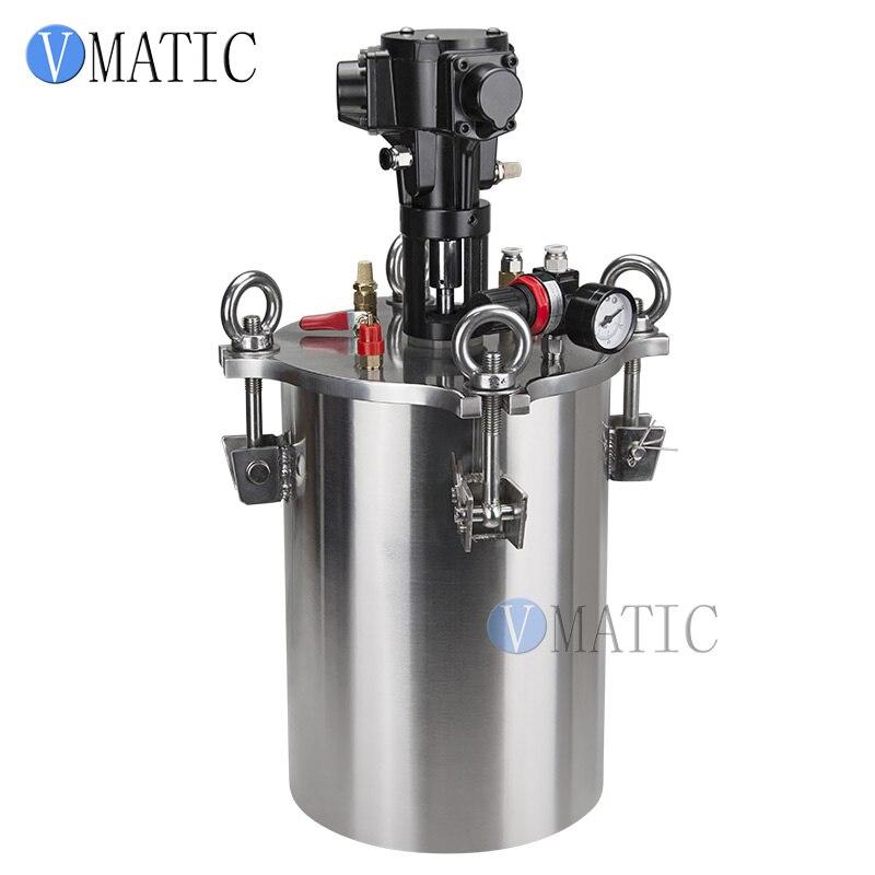 Livraison gratuite qualité pneumatique mélange acier inoxydable pression d'air colle distribution réservoir de pression/récipient sous pression